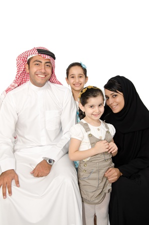 arab girl: Arab Family
