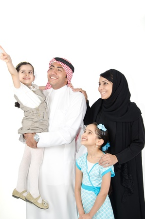 Arab Family Stock Photo - 15431946