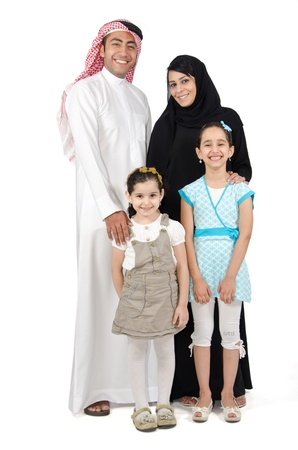 Arab Family photo