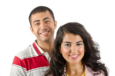 Young Arab Couple