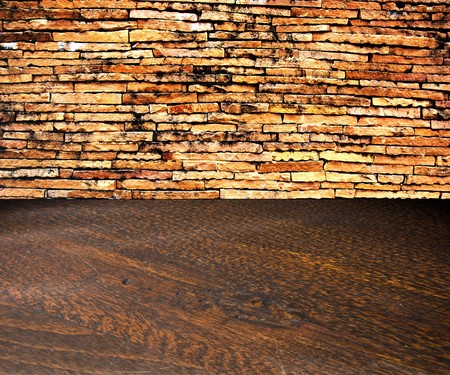 Old brick wal background