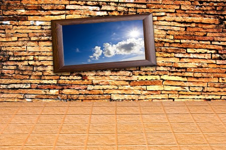 Old brick wal background Stock Photo - 7978172