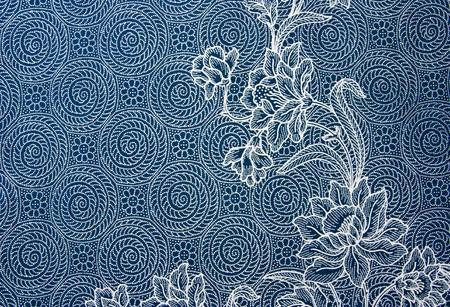Thai cloth pattern