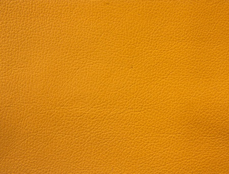 Orange leather texture for background photo