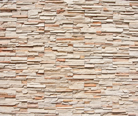 Modern brick wall background photo