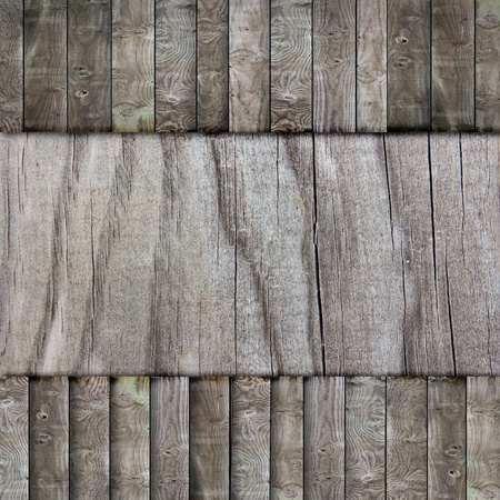 Grunge wood Banner for background Stock Photo - 9296939