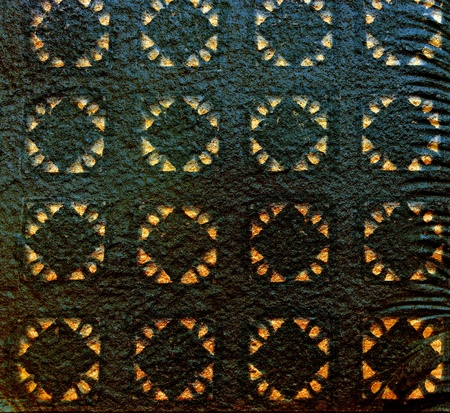 abstract Black wall with pattern backgrond Stock Photo - 9584235