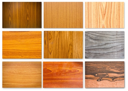 panelling: Set of wood textures for  backgrounds