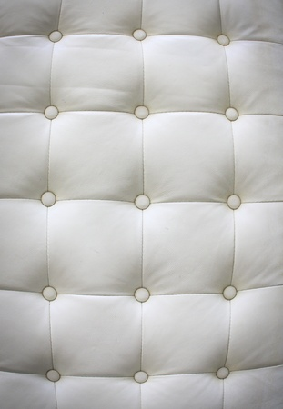 Luxury white leather for background  photo