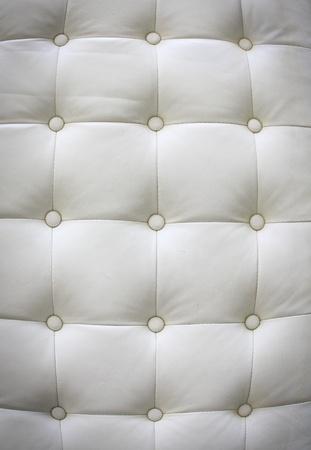 Luxury white leather for background Stock Photo - 9817136