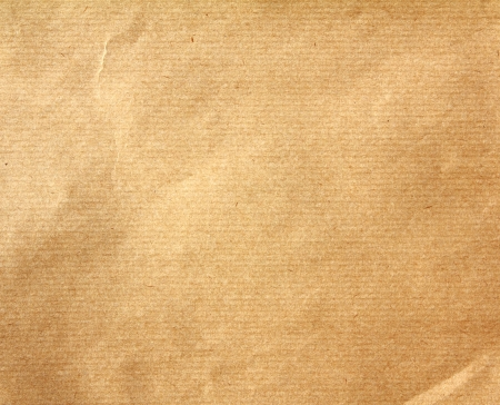 Textured of obsolete  packaging brown paper background Stock Photo