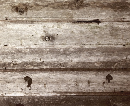 Vintage old wood wall for background photo