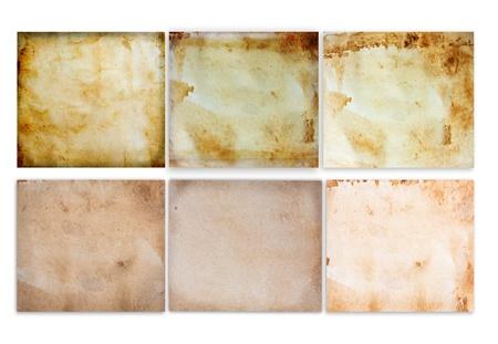 Old vintage paper set Stock Photo - 10023115