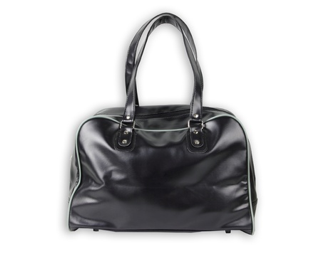 Black Leather bag isolate  Stock Photo - 10023108