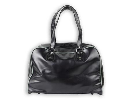 Black Leather bag isolate  Stock Photo - 10023108