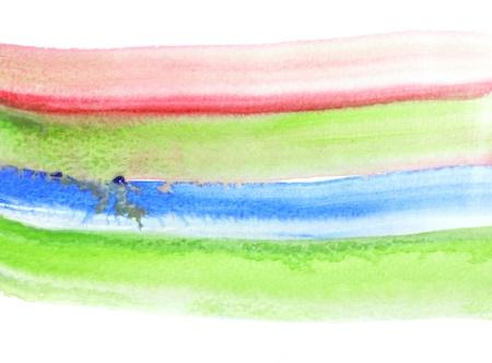 Watercolor hand paint brush Stock Photo - 10023120