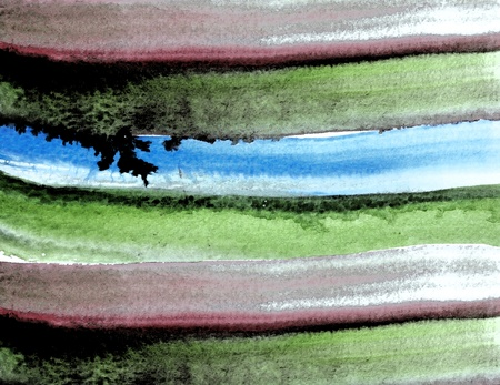 Abstract watercolor hand paint Stock Photo - 10101051