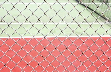 outdoor tennis court net Stock Photo - 10101039