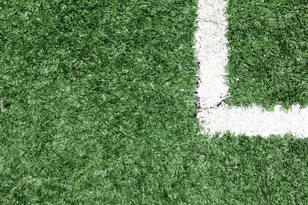 Lines on soccer field, Artificial Grass soccer Field3 Stock Photo - 10139721