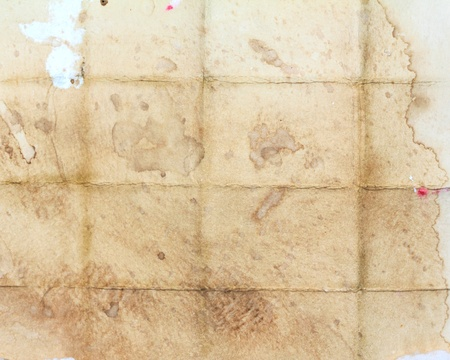 Old folded Grunge paper texture