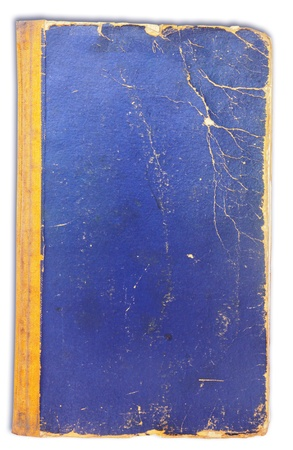rifts: cover of the old book on white background