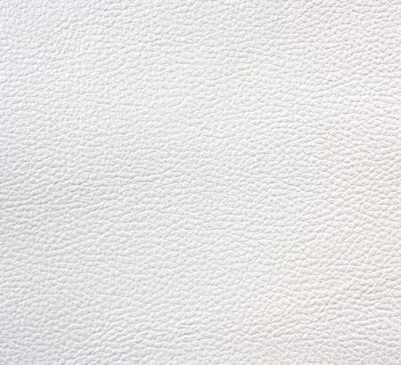 gros plan de la texture en cuir blanc