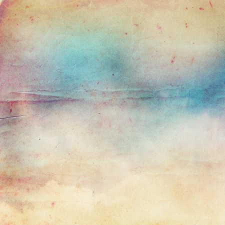Watercolor on old paper background Stock Photo - 10258748