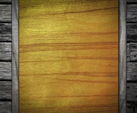antiqued: overlap old wooden background