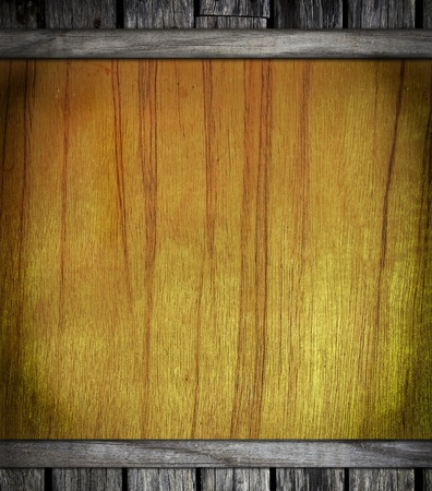 antiqued: Old wooden board on for background