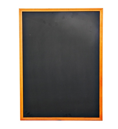 Emypy Chockboard on white background photo