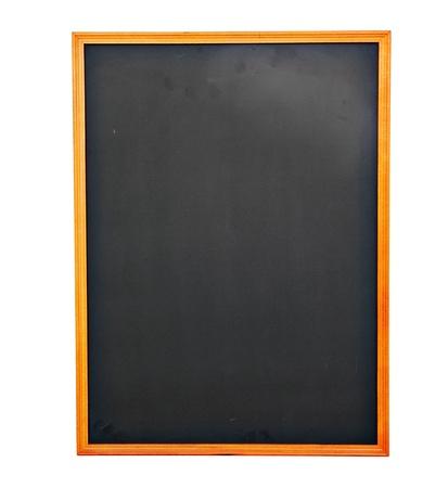 blank slate: Emypy Chockboard on white background Stock Photo