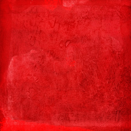linen texture: Red grunge background Stock Photo
