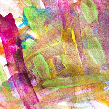 GRAINY: Watercolor brush background Stock Photo