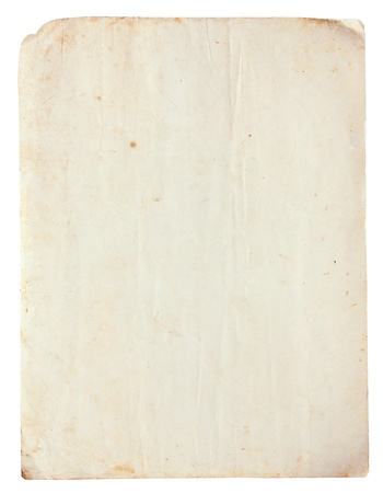 Blank of Vintage old paper for background Stock Photo