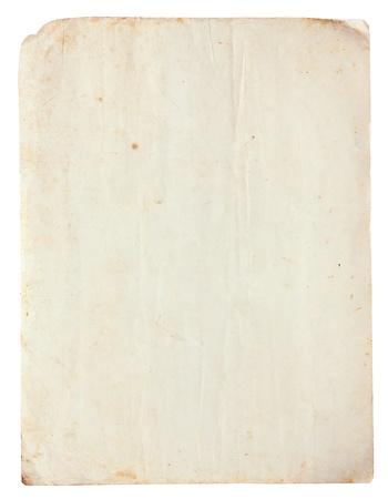 Lege van Vintage oud papier voor achtergrond