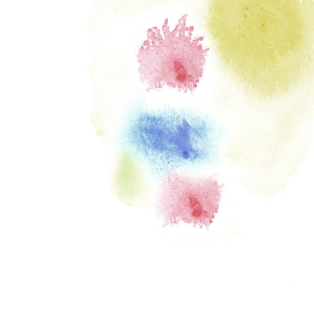 intensity: Abstract watercolor Stock Photo