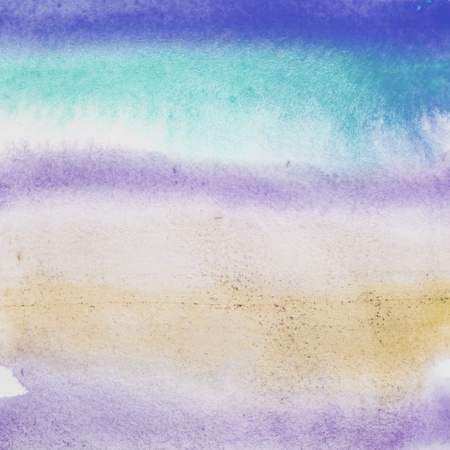 watercolor blue: Abstract watercolor background