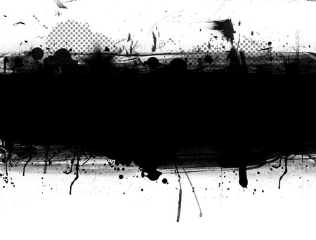 Abstract grunge banner with blank space for your text