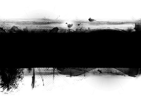 ink spot: Abstract grunge banner with space for your text  Stock Photo