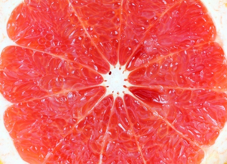Close up of grapefruit texture use for background