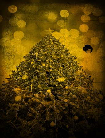 Abstract Christmas on Grunge texture for background photo