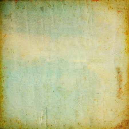 Vintage old grunge paper texture for background photo