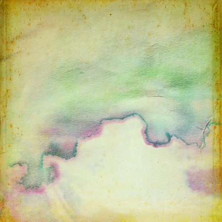 Abstract water color grunge paper for background photo