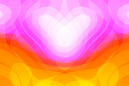 abstract background with colorful heart  photo