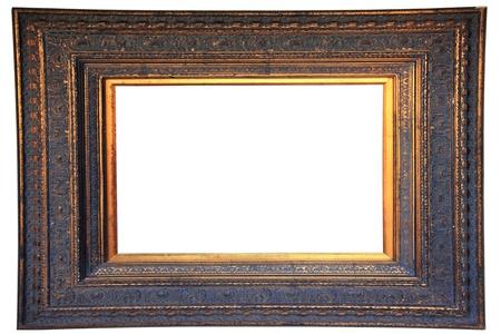 Vintage gold wood frame Stock Photo - 12802968