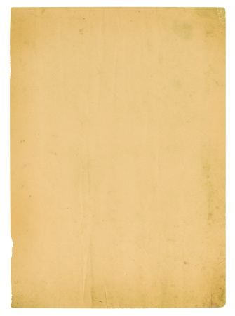 Vintage old paper texture for background Stock Photo - 13166354