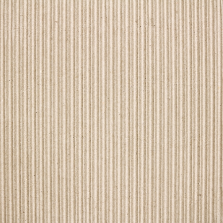 Brown corrugated cardboard texture use  for background