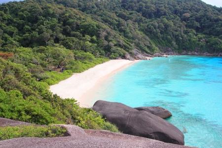 Tropical beach Similan Island ,Phangnga South of Thailand photo