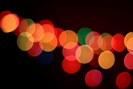 Abstract bokeh light for background Stock Photo - 17115291