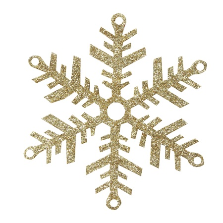 Snowflakes on white background, with clipping path Stock Photo - 17115277